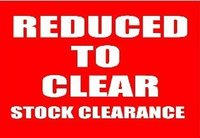 Clearence / Discount items