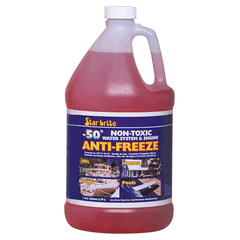 Starbrite Pink Non Toxic Water system and engine storage Antifreeze 3.79 Ltr