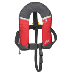 Lifejacket Pilot Junior 150N Auto Harness Red ISO