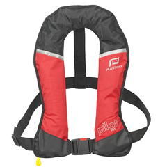 Lifejacket Pilot 165 Red Auto with Harness
