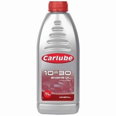 Carlube 10W30 Mineral Motor Engine Oil - 1 Litre