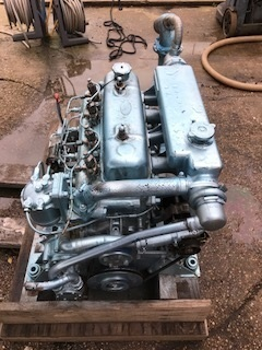 Bmc, Leyland 2 5 2 52 2500 marine Diesel boat engine (workshop tested)