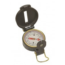 Hand held portable bearing compass