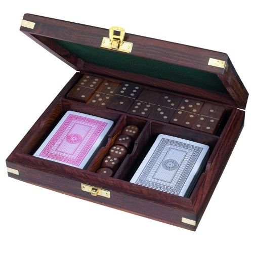 Skipper's Wooden Cabin Boxed Game Set