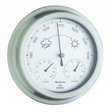 Stainless Steel Barometer/hygro/thermometer 9 inch