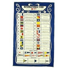 Galley Cloth - Code flags