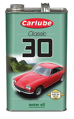 Carlube Classic Engine oil SAE 30 mineral 4.5litre