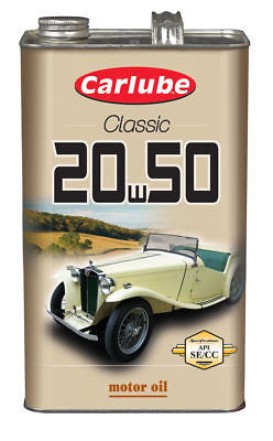 Carlube Classic Engine oil SAE 20 mineral 4.5litre