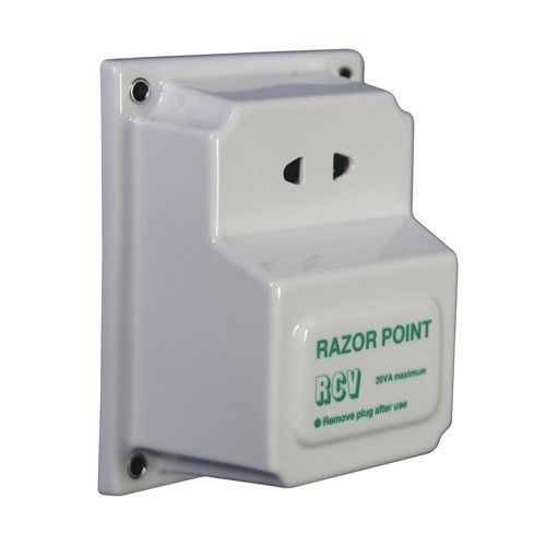 TRANSHAVE RAZOR POINT 12V TO 240V